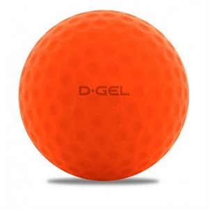 BALLE DEK 391 HCK D-GEL ORANGE DIMPLE PQT 2